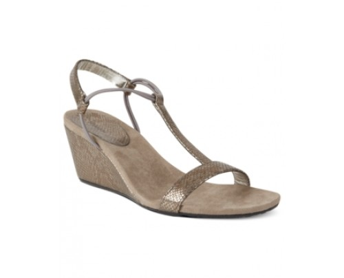 Style & co. Mulan Wedge Sandals, Only at Macy's Women's Shoes