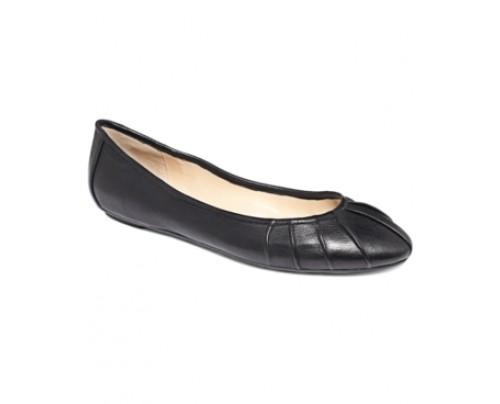 Nine West Blustery Pleated Flats Women's Shoes