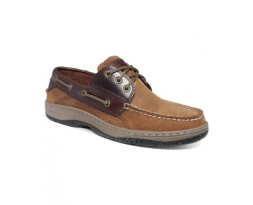 Sperry Men's Billfish 3-Eye Perf Boat Shoes Men's Shoes