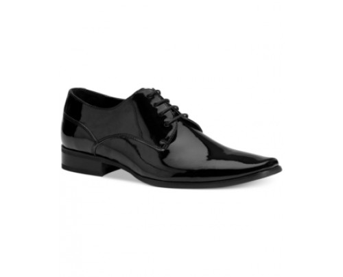 Calvin Klein Brodie Plain Toe Tuxedo Oxfords Men's Shoes