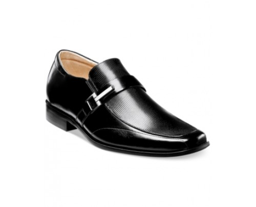 Stacy Adams Beau Bit Perforated Slip-On Loafers Men's Shoes