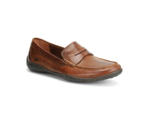 Born Simon Moc Toe Loafers Men's Shoes