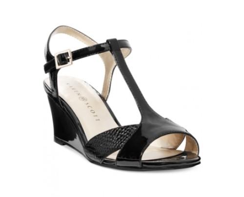 Karen Scott Sabinaa Wedge Sandals Women's Shoes