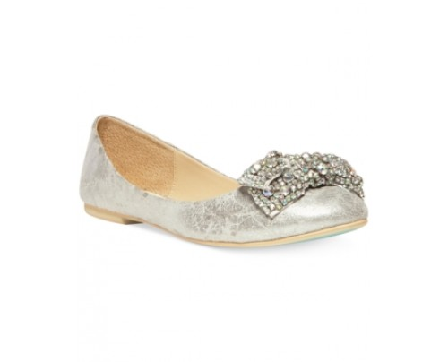 Blue by Betsey Johnson Ever Bow Ballet Flats Women's Shoes