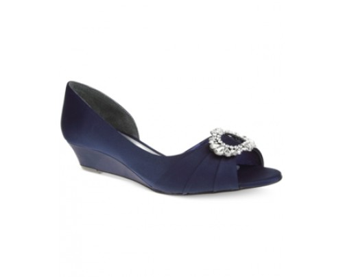 Nina Rivka d'Orsay Evening Wedges Women's Shoes