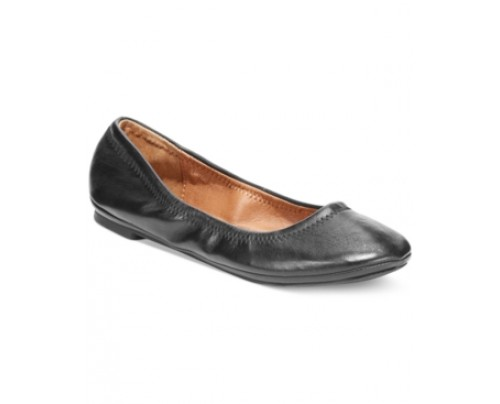 Lucky Brand Leather Emmie Flats Women's Shoes