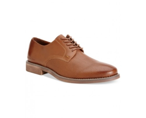 Calvin Klein Jeans Onyx Perforated Oxfords Men's Shoes