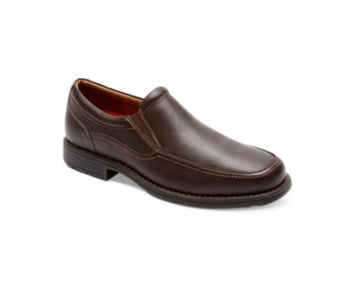 Rockport Real Capital Brown Loafers Men's Shoes