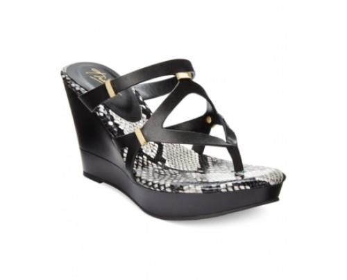 Thalia Sodi Luz Platform Wedge Sandals, Only at Macy's Women's Shoes