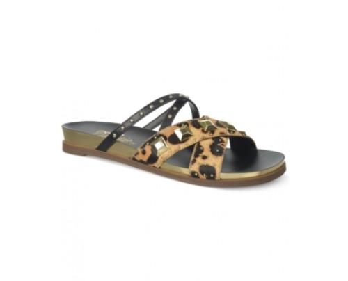 Fergie Dexter Footbed Flat Sandals Women's Shoes