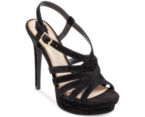 Jessica Simpson Peace Caged Platform Sandals Women's Shoes