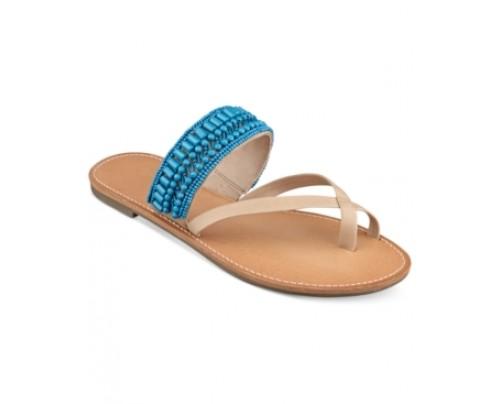 Pink & Pepper Nataley Beaded Flat Sandals Women's Shoes