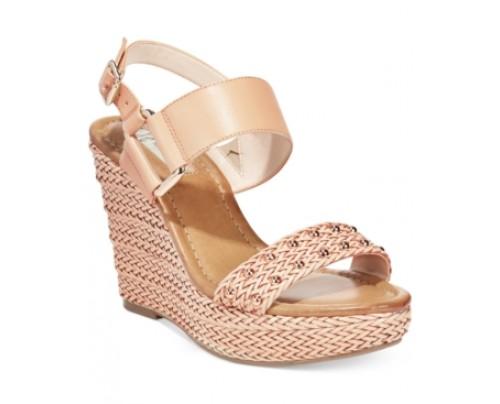 Inc International Concepts Women's Alffie Platform Wedge Sandals Women's Shoes