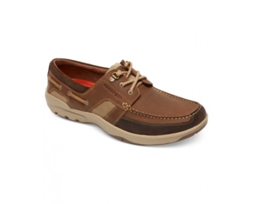 Rockport Streetsailing 3-Eyelet Boat Shoes Men's Shoes