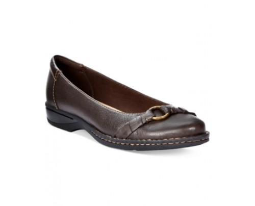 Clarks Collection Women's Pegg Alba Flats Women's Shoes