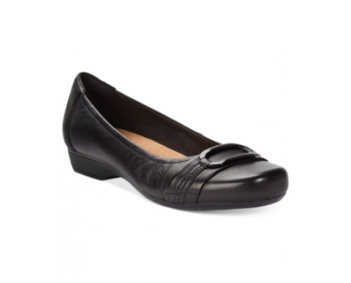 Clarks Collection Women's Blanche Rosa Flats Women's Shoes