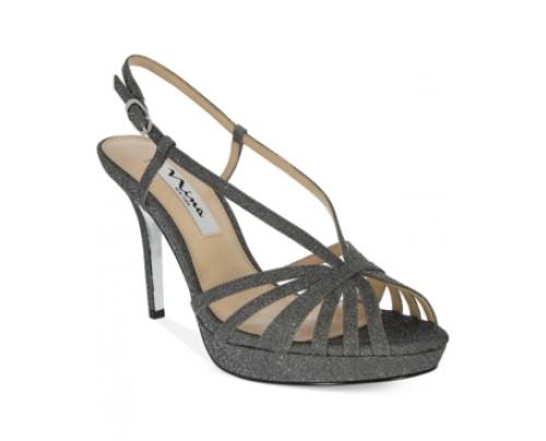 Nina Fenix Platform Evening Sandals Women's Shoes