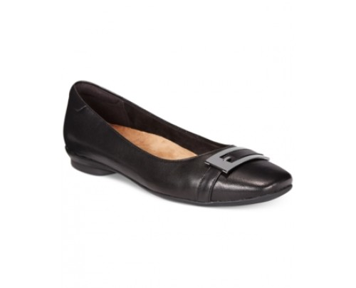 Clarks Artisan Women's Candra Glare Flats Women's Shoes