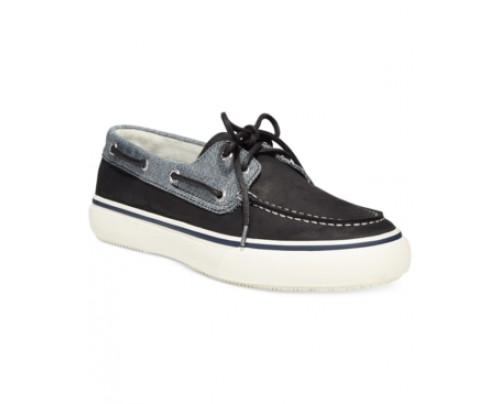 Sperry Men's Bahama 2-Eye Leather Fleck Boat Shoes Men's Shoes
