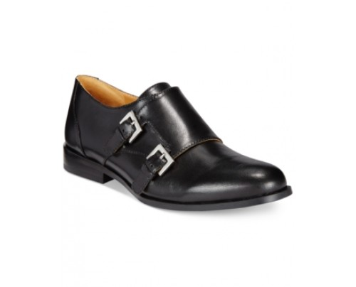 Nine West Toastie Oxford Buckle Flats Women's Shoes