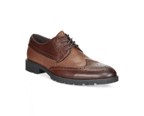 Bar Iii Brett Mixed Media Leather Oxfords, Only at Macy's Men's Shoes