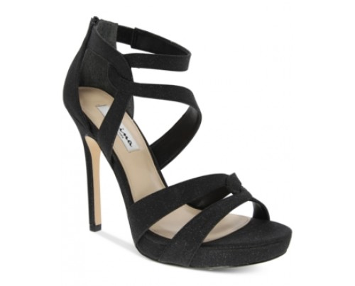 Nina Franzet Platform Evening Sandals Women's Shoes