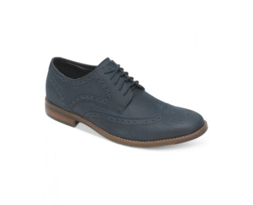 Rockport Style Purpose Wing-Tip Oxfords Men's Shoes
