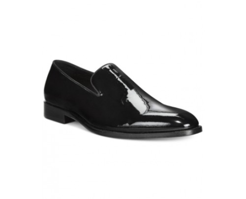Kenneth Cole Rack-etball Plain-toe Patent Loafer Men's Shoes