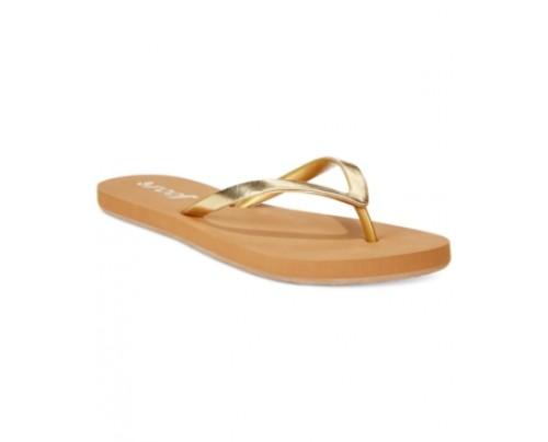 Reef Women's Stargazer Shine Thong Sandals Women's Shoes