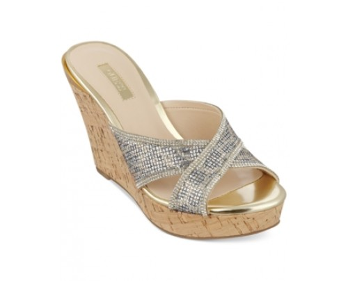 Guess Women's Eleonora X Wedge Sandals Women's Shoes
