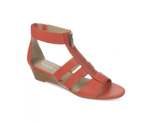 Franco Sarto Unveil Gladiator Wedge Sandals Women's Shoes