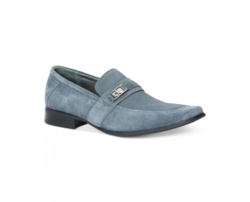 Calvin Klein Bartley Suede Loafers Men's Shoes