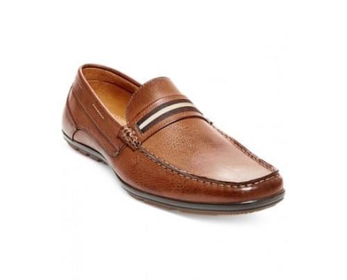 Steve Madden M-Nave Black Loafers Men's Shoes