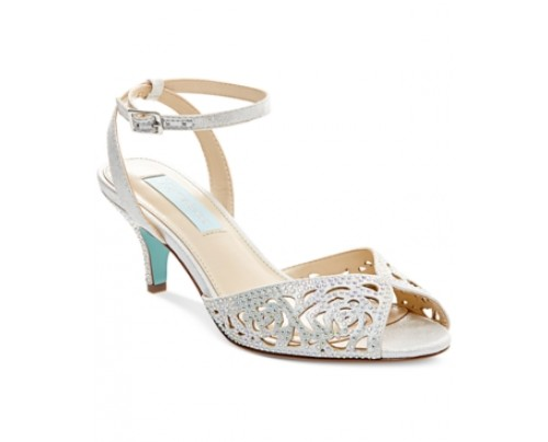 Blue by Betsey Johnson Raven Evening Sandals Women's Shoes