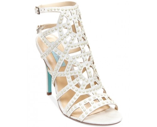 Blue by Betsey Johnson Corey Cage Evening Sandals Women's Shoes
