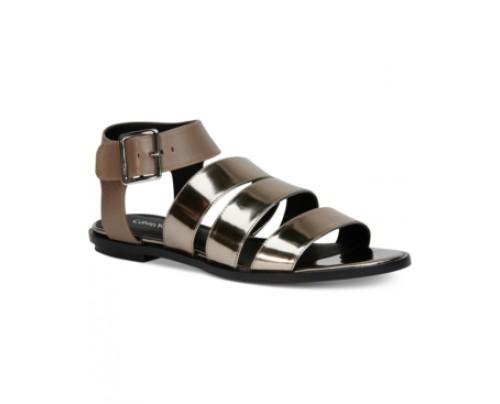 Calvin Klein Women's Ulie Flat Sandals Women's Shoes