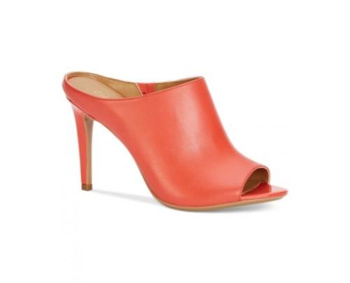 Calvin Klein Women's Nola Peep-Toe Sandals Women's Shoes