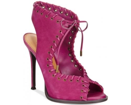 Nine West Hotsuff Peep-Toe Sandals Women's Shoes