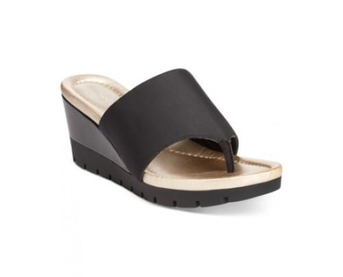 Bandolino Meadoe Wedge Thong Sandals