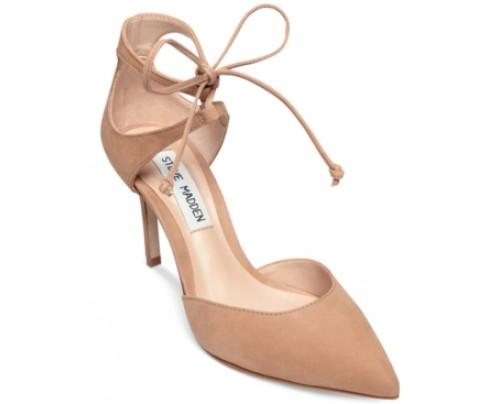 Steve Madden Sambaa Lace-Up Sandals Women's Shoes