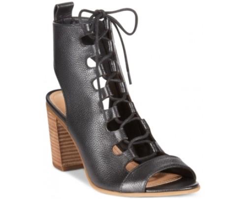 Steven by Steve Madden Skylaar Lace-Up Sandals Women's Shoes