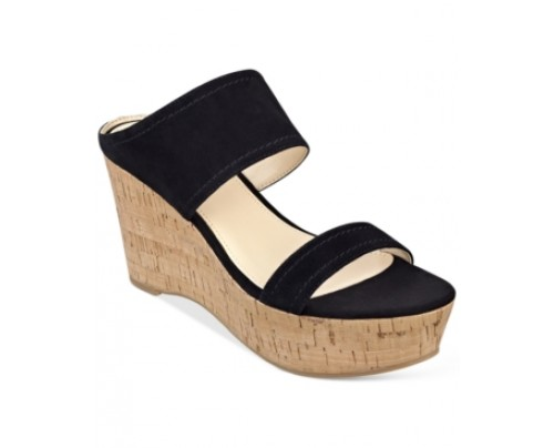 Marc Fisher Shelbee Wedge Sandals Women's Shoes