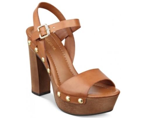 indigo rd. Kiana Wooden Platform Sandals Women's Shoes