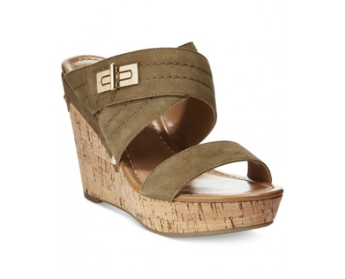 Tommy Hilfiger Mili Wedge Sandals Women's Shoes