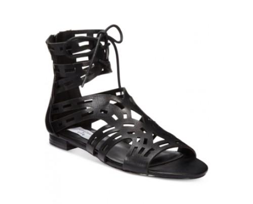 Chelsea & Zoe Cierra Gladiator Lace-Up Sandals Women's Shoes