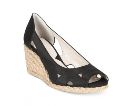 Adrienne Vittadini Bounce Espadrille Wedge Sandals Women's Shoes