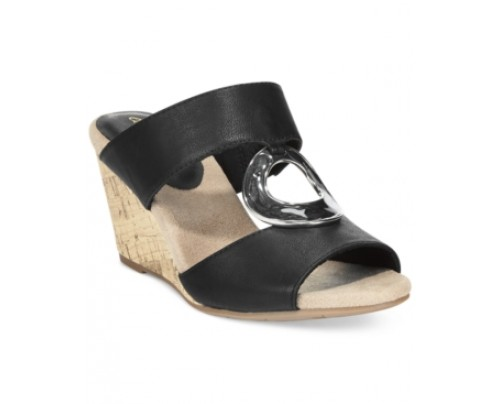 Easy Street Ever Mule Wedge Sandals Women's Shoes