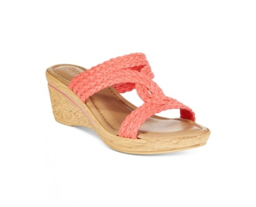 Tuscany by Easy Street Loano Wedge Sandals Women's Shoes