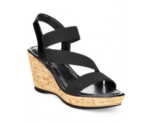 Tuscany by Easy Street Piceno Wedge Sandals Women's Shoes