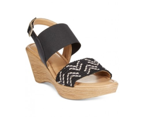 Tuscany by Easy Street San Remo Slingback Wedge Sandals Women's Shoes